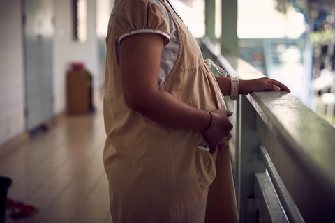 'Fern' at the Bangkok Emergency Home. © UNFPA / Ruth Carr