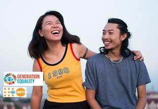 I am Generation Equality: ร่วมกันเพื่อบรรลุโลกที่มีความเท่าเทียมกันทางเพศ